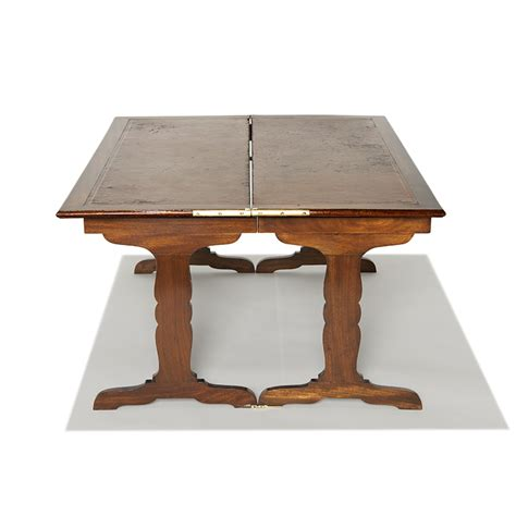 gallery bac flip top coffee table in figured mahogany by