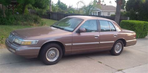 car owners manuals for sale 1993 mercury grand marquis user handbook mercury grand marquis sedan 1993 brown for sale 2melm75wxpx640783 1993 mercury grand marquis
