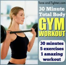 Weekly workout plan 5 of the best gym workouts all in one place