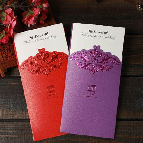 desain undangan pernikahan china chinese verjaardag bruiloft uitnodiging kaart papier