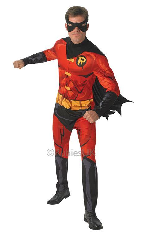 robin mens fancy dress batman dc superhero comic book week