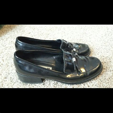 brighton loafers 74 brighton shoes brighton black leather loafers