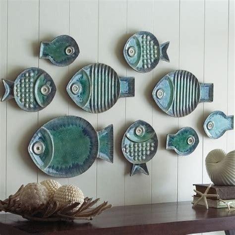 Fish Decor For Walls on fish decorative wall plates one decor