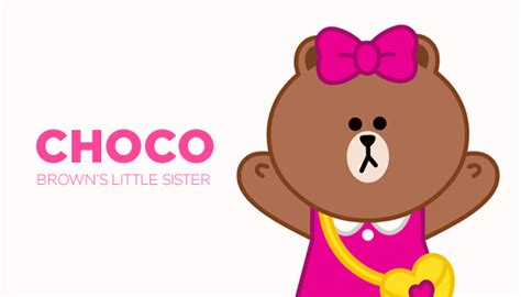 Line Friends Brown Choco Newyork Mousepad line introduces new character choco and launches dedicated choco webpage line corporation ข าว