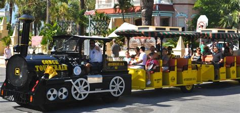 couch train conch tour train key west visitor guide