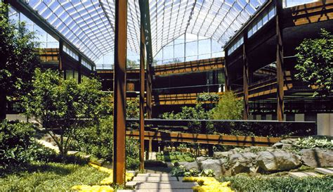 Garden Of Headquarters Deere Company Corporate Headquarters Architravel