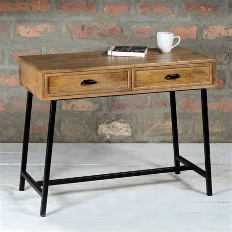 narrow console table with drawers suri industrial modern narrow console table with drawers