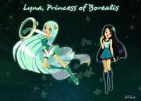 Magic LoliRock Official Lyna &amp Carissa Character Sheets