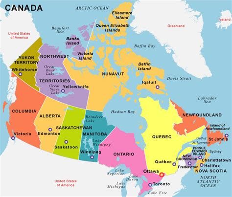 map in canada canada gb immigration