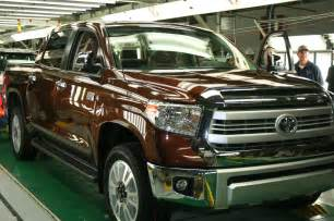 Where Are Toyota Tundra Trucks Made 2014 Toyota Tundra 1794 Edition In Factory Photo 9
