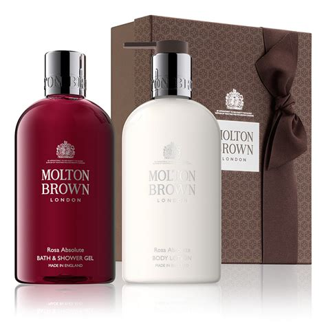 Lotion 2 Rossa molton brown 174 rosa absolute bath gift set shop