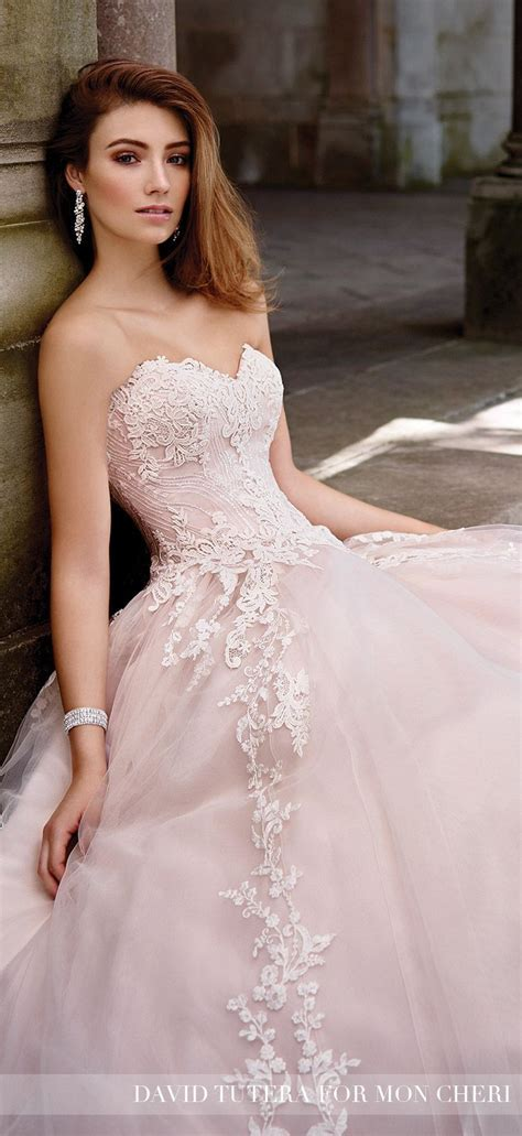 Best 25  Blush wedding gowns ideas on Pinterest   Blush