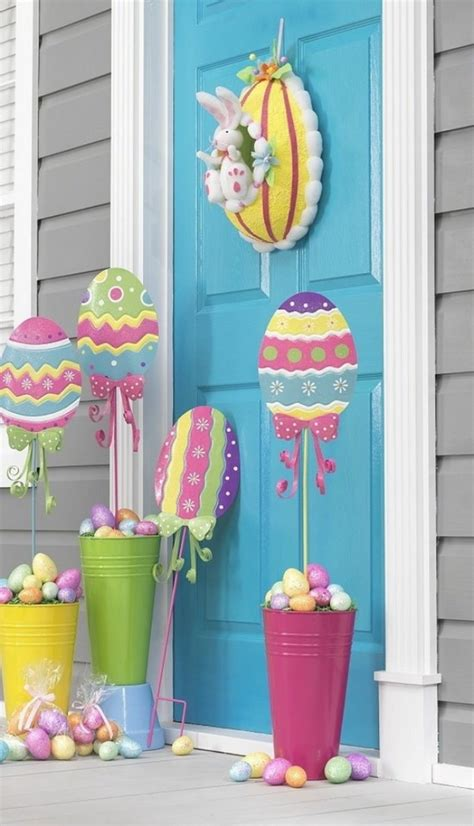 easter decorations ideas outdoor easter decorations 60 ideas for a special family net guide to family