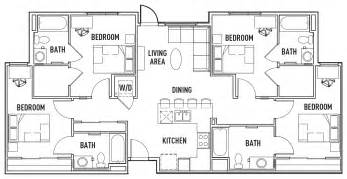 Student Housing Floor Plans floor plans designed with you in mind