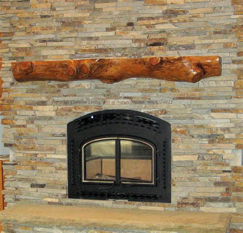 Mantel Fireplace Wood by Rustic Mantels Rustic Wood Fireplace Mantel Rustic Log