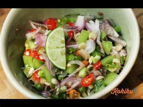 youtube cara membuat sambal matah resep sambal matah bali balinese chili recipe video