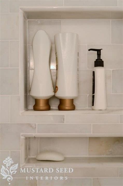 badezimmer cubbies tiled shower niche shower shelf bathroom awesome