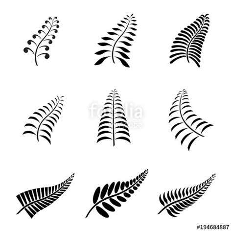 aotearoa tattoo designs quot new zealand fern leaf and logo with maori style
