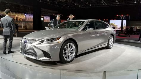 lexus ls pricing unveiled  detroit significantly