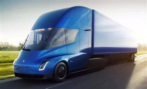 Tesla 0 To 60 Time Tesla Semi Truck Unveiled With 5 Second 0 To 60 Time