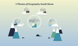 5 themes of geography south korea 5 themes of geography south korea by audrey tian on prezi