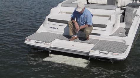 cobalt boats swim step playing sea ray sdx 290 2016 sea ray powered by