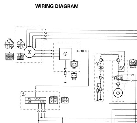 2001 yamaha warrior wiring diagram wiring diagram and