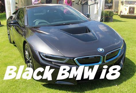 bmw supercar black bmw i8 black at supercar siege 2015