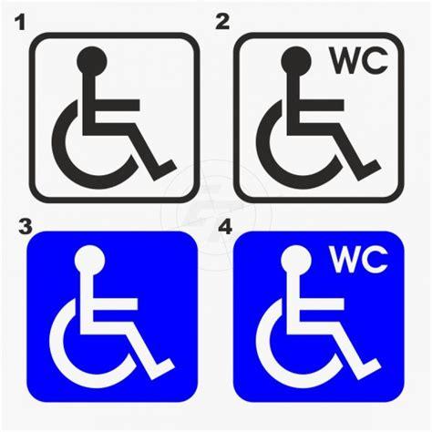 Aufkleber Online Shop by Wc Aufkleber Behinderten Wc Online Shop F 252 R Aufkleber