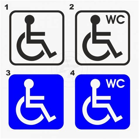 Toiletten Aufkleber Shop by Wc Aufkleber Behinderten Wc Shop F 252 R Aufkleber