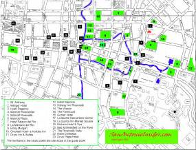 san antonio hotel map best map of riverwalk hotels san