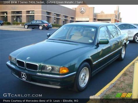 1998 bmw 740il oxford green metallic 1998 bmw 7 series 740il sedan