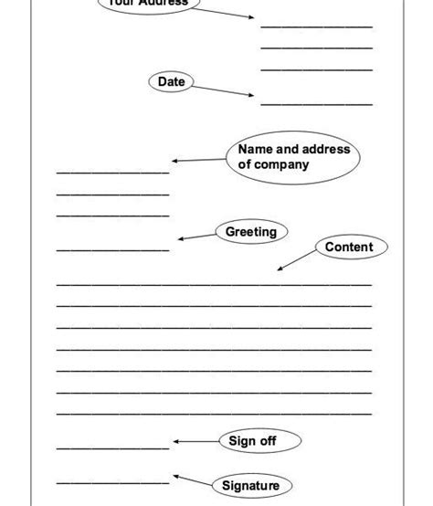 Formal Letter Template Ks1 formal letter template for letters font in formal