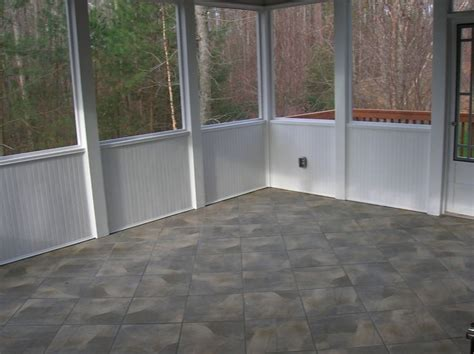 outdoor screen room with floor 1000 ideas about screened front porches on
