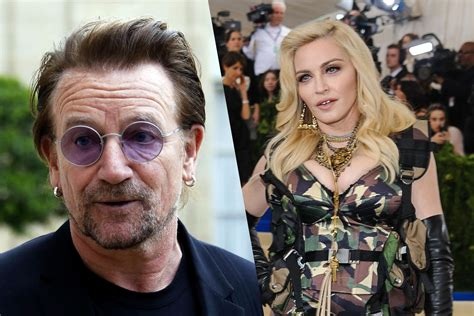 madonna and bono among guests at manager s studded wedding ceremony