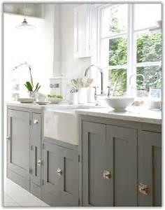 amazing Wood And White Kitchen Cabinets #1: dark-lower-kitchen-cabinets-white-upper.jpg