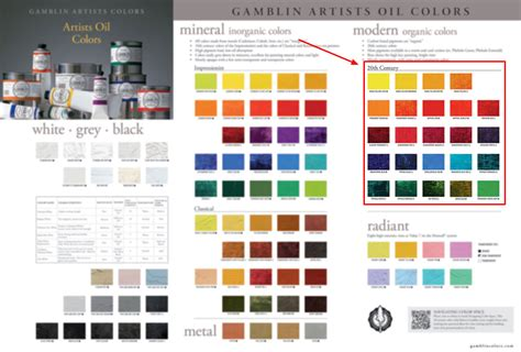modern colors mineral and modern pigments painters access to color