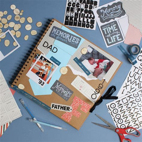 Father S Day Scrapbook Layout Craft | two scrapbook layouts for father s day hobbycraft blog