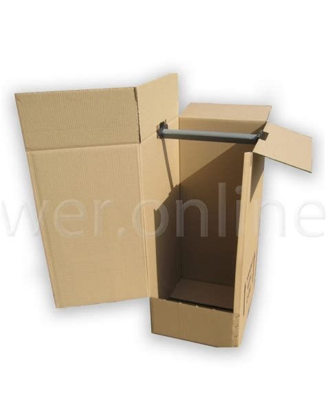 hanging wardrobe boxes 18 x 20 x 48 quot 508 x 457 x 1245mm wall boxes
