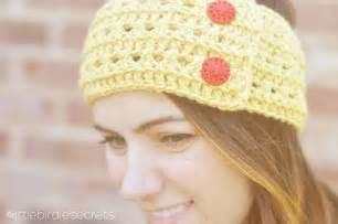 crochet headbands birdie secrets free crochet headband and cuff pattern