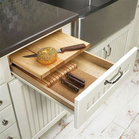 Cutting Board With Drawer by Cutting Board Drawer Feels Like Home