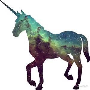 Wall Art Vinyl Stickers quot space unicorn quot stickers by superfluff redbubble