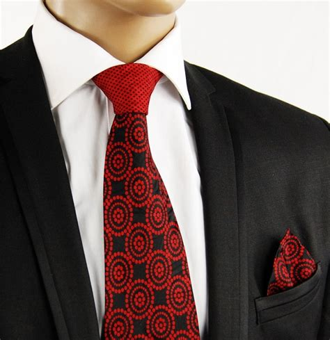 extraordinary steven land silk necktie with contrast knot
