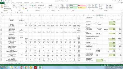 simple cash flow projection template and cash flow