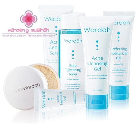 Harga Wardah Acne Treatment Series jual pahe paket hemat wardah acne treatment series