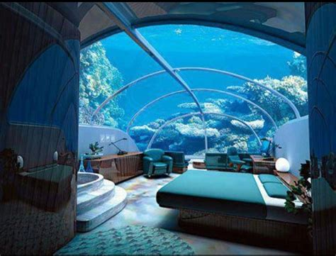 underwater bedroom in maldives underwater hotel bora bora travel pinterest