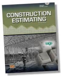 Construction Estimating With Estimating Program On Cd Rom