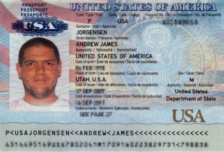 u s passport passport