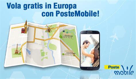 volagratis mobile vola gratis con postemobile un viaggio in europa in