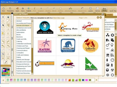 online design program image gallery logo design software online